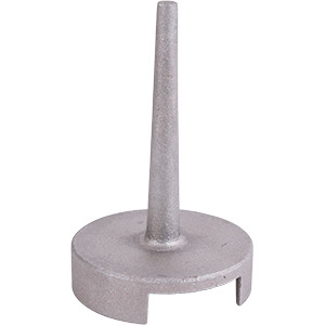 Cast Aluminum Trapper's Pan Cap - MB-650 Cast Capper