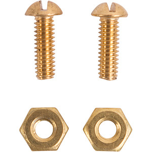 Standard Size Brass Bolt and Nut