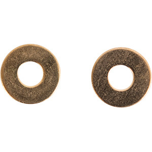 Brass #10 Washers for Shimmering Pans