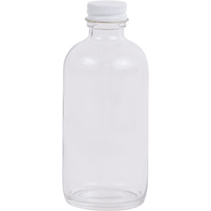 4 oz. Regular Glass Lure Bottle w/ Cap