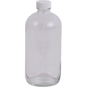 16 oz. Regular Glass Lure Bottle w/ Cap
