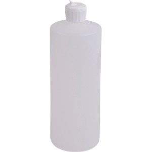 32 oz Plastic Bottle w/ Flip Top