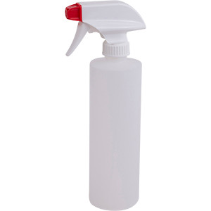 16 oz Plastic Bottle w/ Spray Top