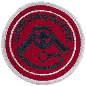 American Trapper - Sew-On Patch
