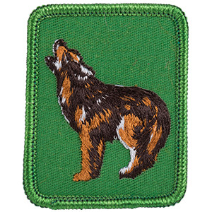 Coyote - Sew-On Patch