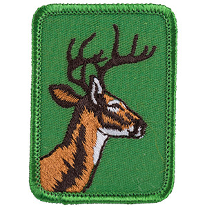 Deer - Sew-On Patch