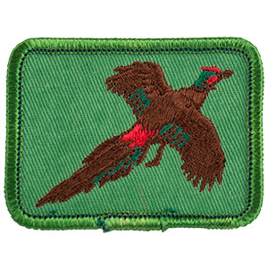 Pheasant - Sew-On Patch