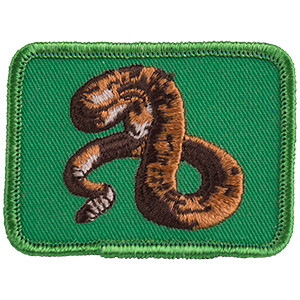 Rattlesnake - Sew-On Patch