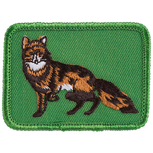 Red Fox - Sew-On Patch