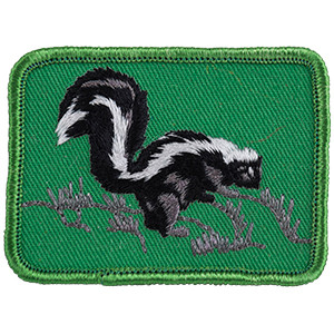 Skunk - Sew-On Patch