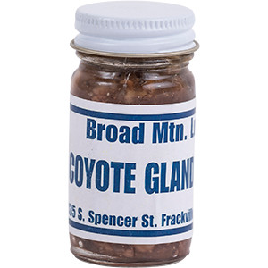 Coyote Gland - Broad Mountain Lure