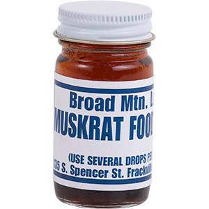 Muskrat Food Lure - Broad Mountain Lure