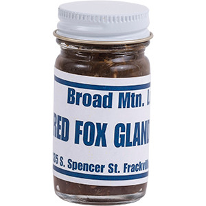 Red Fox Gland - Broad Mountain Lure