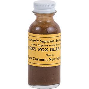 Grey Fox Gland - Carman's Lures