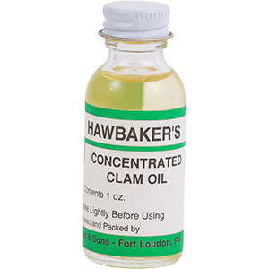 Concentrated Clam Oil - Hawbaker's Lures