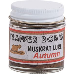 Autumn Muskrat - Trapper Bob's Lure