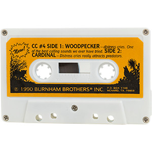 #4 Yellow Hammer Woodpecker - Burnham Brothers Cassette Tapes