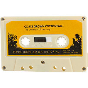 #13 Grown Cottontail - Burnham Brothers Cassette Tapes