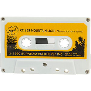 #29 Mountain LIon  - Burnham Brothers Cassette Tapes