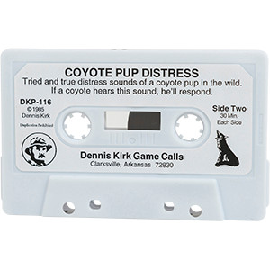 CT 116 Coyote Pup Distress - Dennis Kirk Cassette Tape
