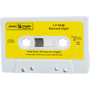 CT 104B Raccoon Fight - Johnny Stewart Cassette Tapes