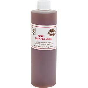 Grey Fox - Top Quality Pure Animal Urine
