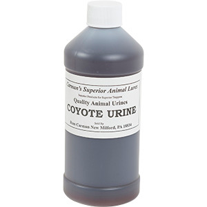 Coyote - Carman's Pure Animal Urine