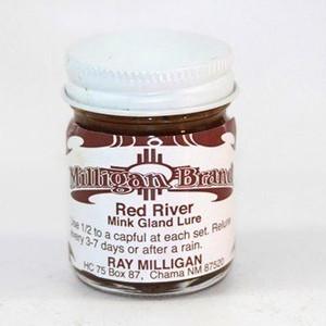Milligan Lure - Red River Mink Gland