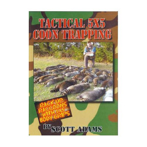 Adams, Scott  -  Tactical 5x5 Coon Trapping DVD