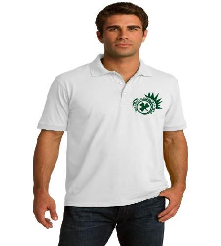 Killarney adult uniform polo w/ printed logo