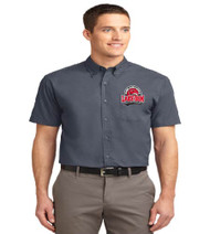 Lake Gem Men's Short Sleeve Button-up