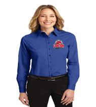 Lake Gem Ladies Long Sleeve Button-up