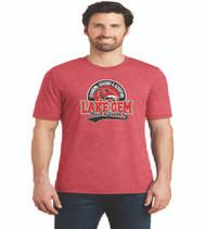 Lake Gem Men's Tri-Blend Soft Cotton T-Shirt