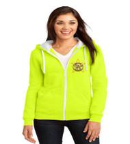 Millennia Ladies Zip-Up Hooded Sweatshirt