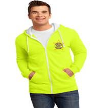 Millennia Men's Zip-Up Hooded Sweatshirt