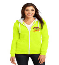 Westbrooke Zip-Up Ladies Hooded Sweatshirt