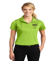 Memorial ladies dri-fit polo w/ left chest print