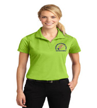 Hungerford ladies dri-fit polo w/ embroidery