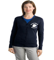 Bartram Springs ladies cardigan w/ embroidery