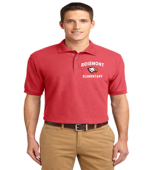 Rosemont men's basic polo