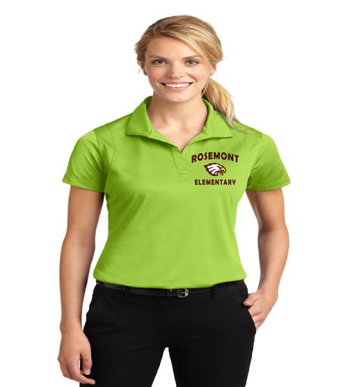 Rosemont ladies dri fit polo