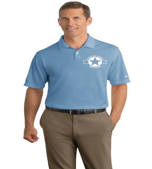 MPA Men's Nike dri-fit polo w/ embroidery