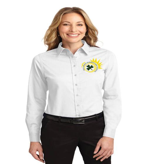 Killarney ladies long sleeve button up