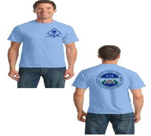 Pack 631 Men's short sleeve t-shirt