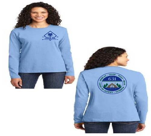 Pack 631 Ladies long sleeve t-shirt