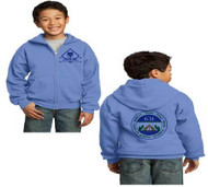 Pack 631 Youth Carolina Blue Full Zip Hoodie