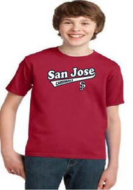 San Jose Cardinals youth tshirt