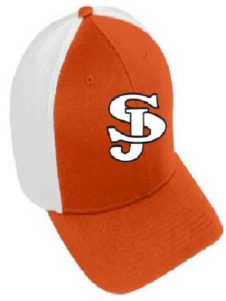 San Jose tigers color block flex fit hat