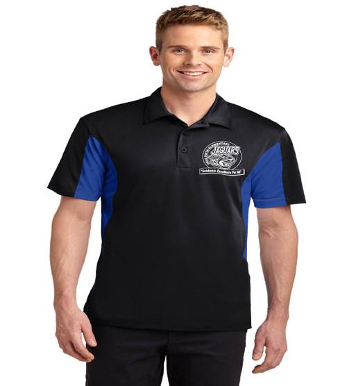 Orlo Vista men's color block dri fit polo