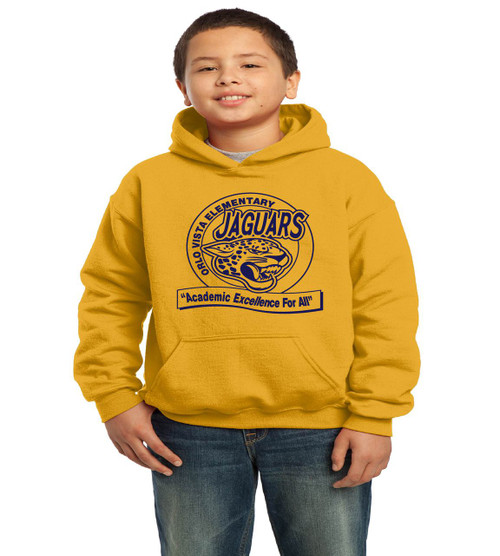 Orlo Vista youth hooded sweatshirt